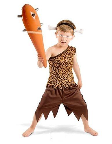 Seiler24 Steinzeitmensch Kostüm Kinder 3-5 Jahre Karneval