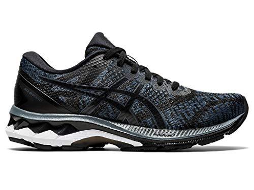 ASICS Women's Gel-Kayano 27 MK Running Shoes, 5.5, Black/Carrier Grey
