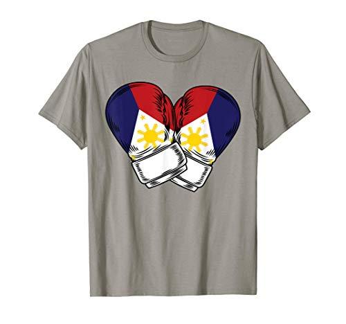 Philippines Filipino Flag Boxing T-Shirt