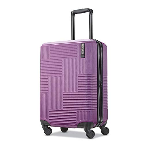 American Tourister Stratum XLT Hardside Luggage, Power Plum, Carry-On