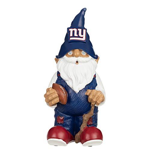FOCO NFL Gartenzwerg, aus Kunstharz, 29,2 cm, Unisex-Erwachsene, FOCO New York Giants 2008 Team GNOME, Teamfarbe, Einheitsgröße