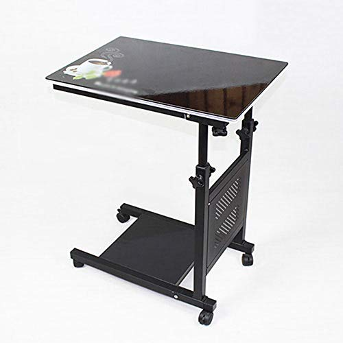 LLA Bedside Table Mobile Table Computer Desk Small Table Folding Table Laptop...