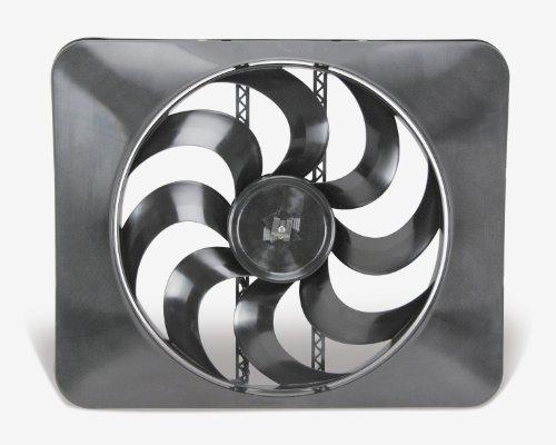 """Flex-a-lite 180 Black Magic X-treme 15"""" Reversible Electric Fan"""