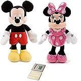 Price Toys Los Juguetes del Precio de Mickey Mouse Mini Conjunto de Frijol (Mickey / Minnie)