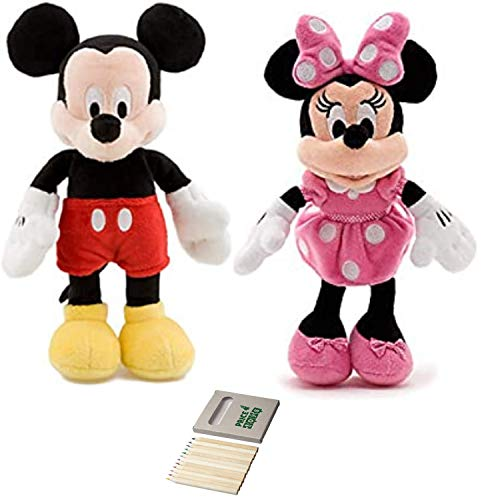 Price Toys Mickey e Minnie Mouse Mini Peluche da Disney (Mickey / Minnie)