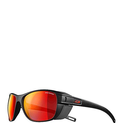Julbo Camino Sonnenbrillen, schwarz/rot, 58