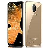 Moviles Libres 4G Note 7P 5.5' FHD Water-Drop, 3GB RAM + 32GB ROM /128GB Memoria Expandida Telefono movil Libres, Android 9 Smartphone Libre Dual SIM, Face ID, Móviles y Smartphone Libres (Oro)