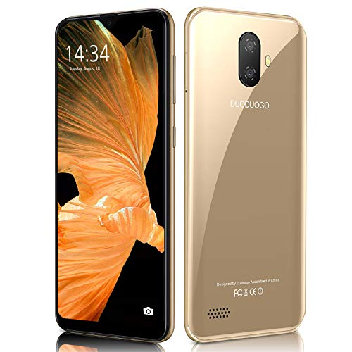Moviles Libres 4G Note 7P 5.5' FHD Water-Drop, 3GB RAM + 32GB ROM /128GB Memoria Expandida Telefono movil Libres, Android 9...