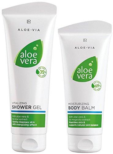 LR ALOE VIA Aloe Vera Körperpflege-Set (250 ml Duschgel & 200 ml Körperbalsam)
