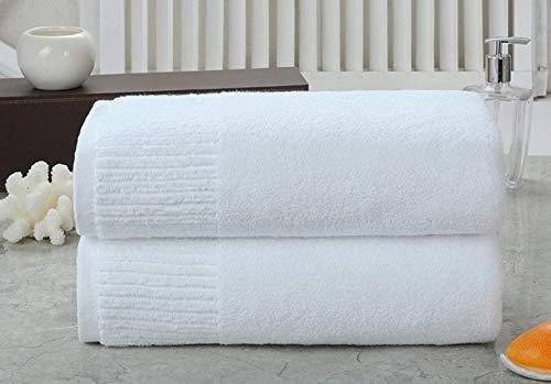 WLQCPD Handdoek,100% katoenen badhanddoek voor op reis voor thuis Superabsorberend gezicht badhanddoek badkamer sauna Handdoeken, wit, 1pc badhanddoek