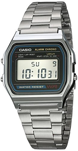Reloj CASIO A158WA-1R Vintage Collection Digital Retro-Acero