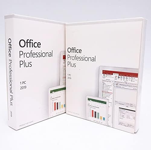 Office 2019 Professional Plus - Box Sigillato - Prodotto Ufficiale - Attivazione Online - Ultimissima Versione ITA