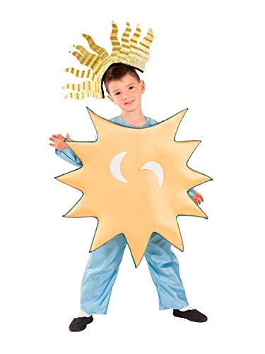 DISBACANAL Disfraz Estrella de la Navidad Infantil - -, 8 aos