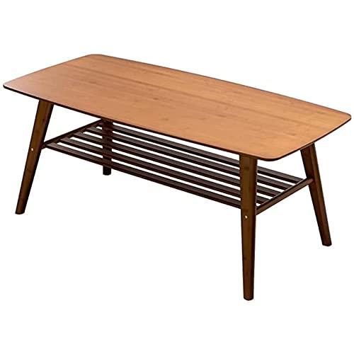 Tavolino da divano, Tavolini da caffè tavolino da caffè in bambù naturale tavolino tavolino multistrato tavolo da cocktail industriale multi-strato, utilizzato per camera da letto soggiorno decorazion