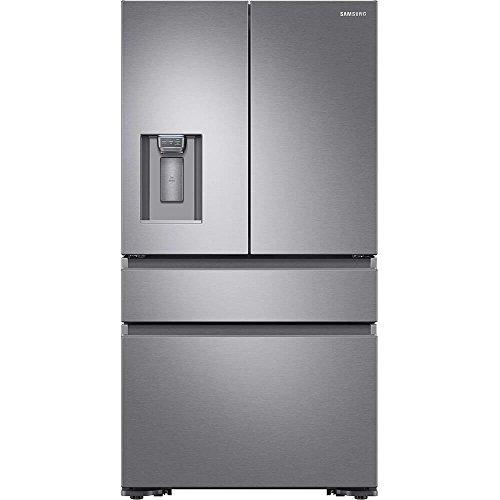 Samsung RF23M8070SR 23 cu. ft. Capacity Counter Depth 4-Door French Door Refrigerator RF23M8070SR AA