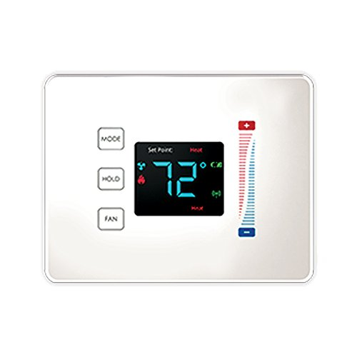 Centralite 3-Series Pearl Touch Thermostat, White