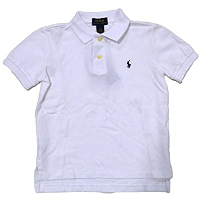 Polo RL Toddler Boy's (2T-5T) Mesh Polo Shirt-Green-4T