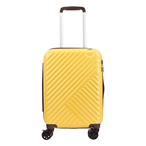 [サンコー] スーツケース 機内持ち込み 32L 46cm 2.8kg るるぶキャリー イエロー