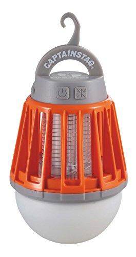 キャプテンスタッグ(CAPTAIN STAG) ランタン ライト LED バグランタン USB充電式 誘虫ライト付き 3段階調整 【明るさ180ルーメン/連続点灯約1.5時間(High+誘虫ライト)/連続点灯約6.5時間(Low+誘虫ライト)】 UK-4051