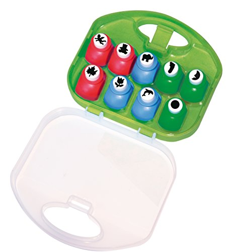 Playbox 9 Craft Punch Set, Multicolore