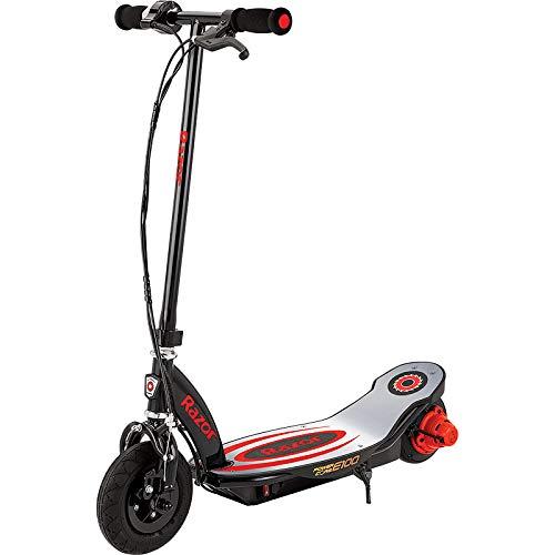 Razor Power Core E100 Scooter Eléctrico, Juventud Unisex, Rojo, 85.7 x 42 x 89.2 cm