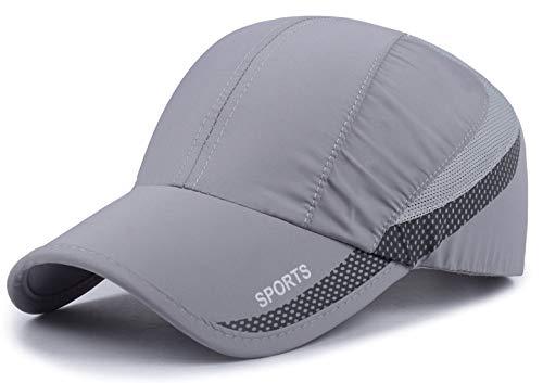 Quick Dry Cap Lightweight Running Hats Outdoor Airy Mesh UPF 50+ Adjustable Sports Sun Hat for Men Women