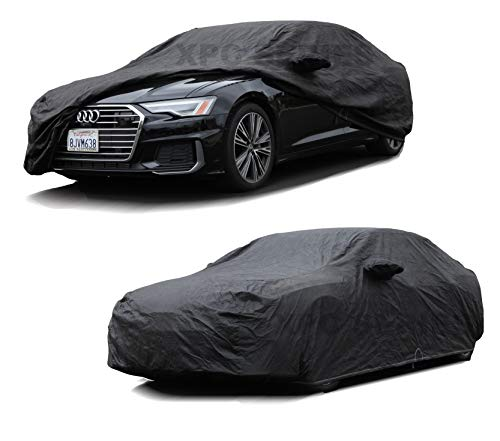 XtremeCoverPro 100% Breathable Car Cover for Select Audi A8 S8 A8L 2001 2002 2003 2004 2005 2006 2007 2008 2009 2010 2011 2012 2013 2014 2015 (Jet Black)