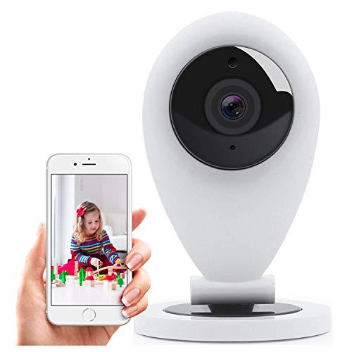 HiKam S6L Überwachungskamera mit App und Support - Datensicherung in Deutschland | IP WLAN Kamera HD für innen | Babyphone mit Kamera | 2-Wege-Audio | WiFi Kamera | Bewegungsmelder | Nachtsicht