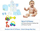 Unique Ideas Baby Boy's and Baby Girl's Baby Clothes and Toys Gift Set