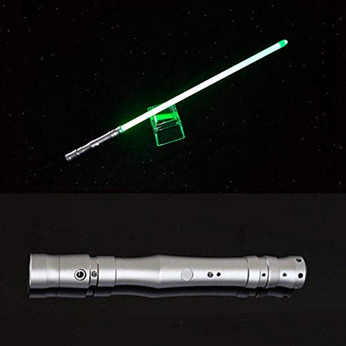 GYX Sable de luz de juguete espada láser Brinkdos Kpop barra de luz jugtes de luz Brinkdos Pilgod Silvergreenlight