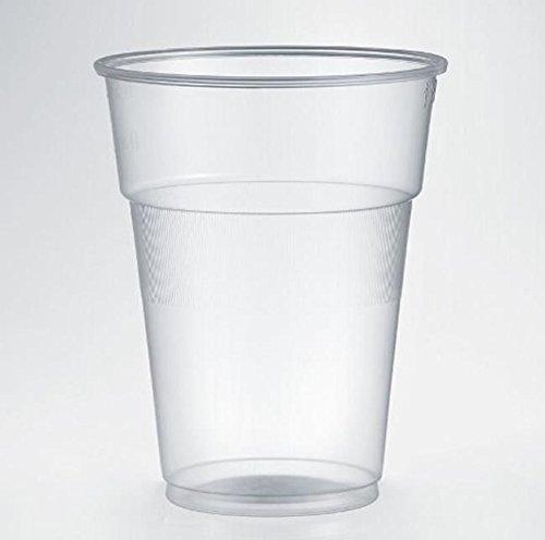 ISAP PACKAGING SPA glazen, van polypropyleen, transparant 630ccm, 50 stuks van wegwerp-kunststof, grandi-dranken, Birra Cocktail