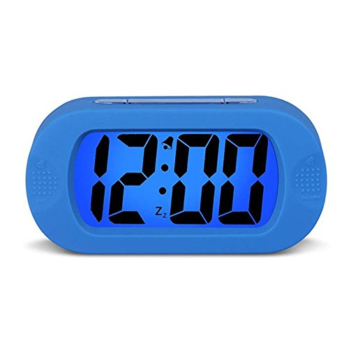 HENSE Large Digital Display Luminous Alarm Clock With Snooze, Night Light...