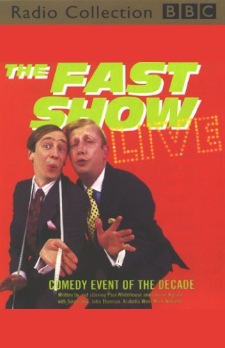 The Fast Show Live audiobook cover art