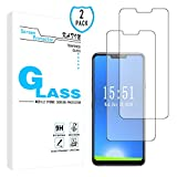 KATIN LG G7 ThinQ Screen Protector - [2-Pack] Tempered Glass for...