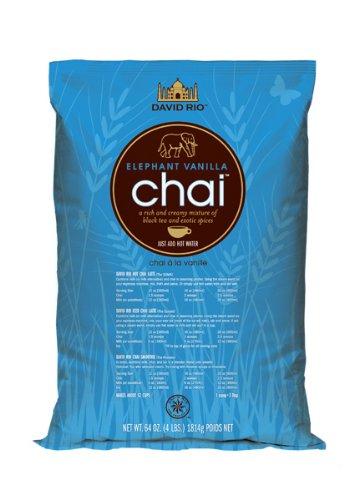 David Rio Food Service Bag Elephant Vanilla Chai, 1er Pack (1 x 1.8 kg)