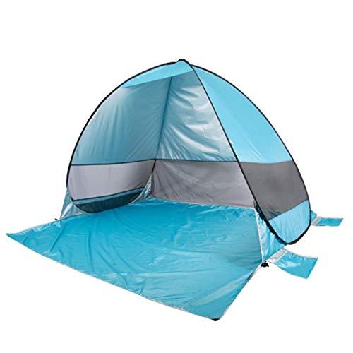 SSG Home Utilisation Multiple Sports de Plein air Tente Camping Épaississement Sunscreen Pluie à l'extérieur Automatique Vitesse Ouverte Gaze Tente Pliante Coupe-Vent Respirant Équipement d'extérieur