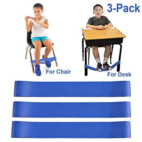 Chair Bands for Kids with Fidgety Feet, Alternative Seating in Classrooms, for Kids with Sensory ADHD ADD Autism and Sensory Needs, Chair Bands Made from Natural Latex, Good Resilience Toughness?
