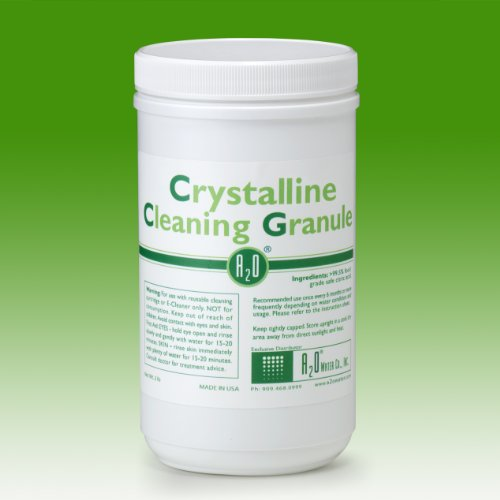 A2O Water - Made in USA, Crystalline Cleaning Granule - 2lbs - For Use with Reusable Cleaning Cartridge or E-cleaner Only.