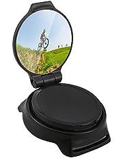 Festnight Cycling Mirror Riding Wrist Band Rotatable Rear View Mirror for MTB Road Bike Motorbike Riders