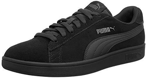 PUMA Smash V2, Zapatillas Unisex Adulto, Negro Black/Dark Shadow, 40 EU