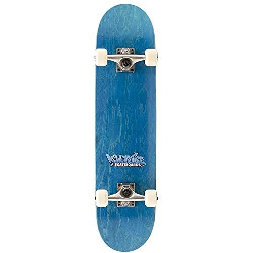 Voltage Graffiti Logo Blue Complete Skateboard - 7.5 inch