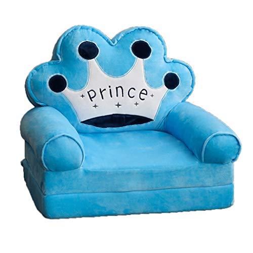Sessel Kinder Sofa Kinder Mini-Stuhl Couch Kinder Sofa Mädchen Prinzessin Boy Prinz Kleine Tatami Stuhl Folding fauler Sitz Cartoon Sofa Geburtstags-Geschenk-Kinder Sofa