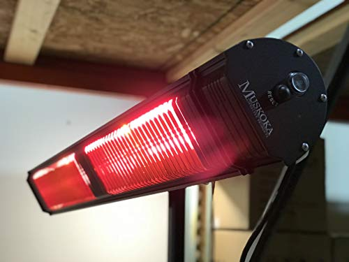 Commercial SunWave 3000W 220-240V with Remote Patio Heater