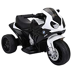 ✅COMFORTABLE TO RIDE: Extra wide padded seat and spring shock absorber make it comnfortable to ride ✅MUSIC AND LIGHTS: Equipped with music and light gives them a realistic experience. ✅SAFE DESIGN: The maximum speed is 2.5km/h, which is safe for chil...