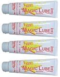 Magic Lube 4 Pack - Aladdin II 5 oz. Silicone Lubricant Sealant 651