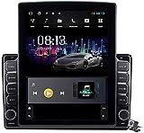 Pantalla Vertical de 9,7 Pulgadas Android 9.1 Coche Multimedia Player para Audi A4 2002-2008, Soporte GPS Navegador Radio De Coche USB BT Mandos de Volante