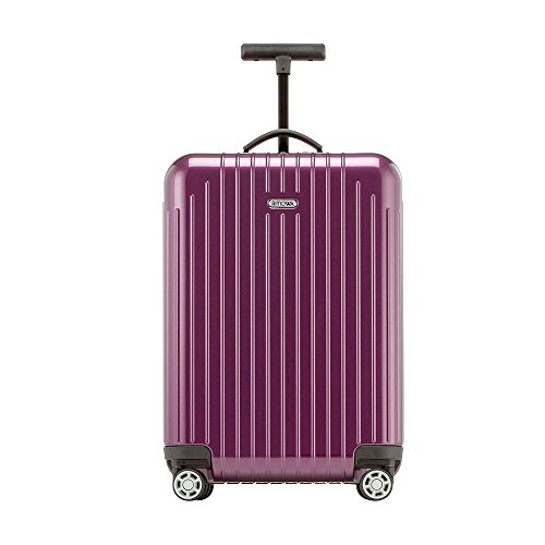 Rimowa Salsa Air IATA Carry on Luggage 21' Inch Light Cabin Multiwheel 33 L Pop Suitcase Violet