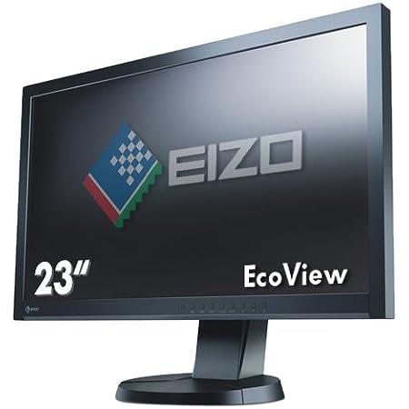 ナナオ <FlexScan> 23.0インチTFTモニタ 1920x1080 DVI-D24ピンx1 D-Sub15ピンx1 DisplayPortx1 ブラック EV2335W-BK