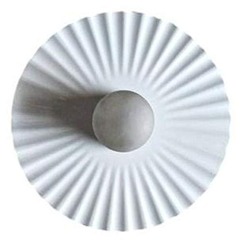 Generico Aplique lámpara flos modelo plisado diseño Achille castiglioni 1985 grande vintage modernasado