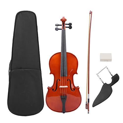 Alomejor 16 Zoll Viola EQ Fichtenholz mit Bow Carry Box für Erwachsene Kinder Anfänger